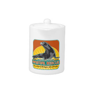 Lobo marino animal del rescate