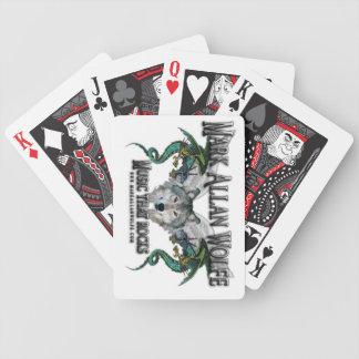 lobo místico baraja de cartas