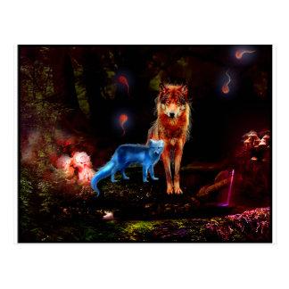 Lobo místico y Fox Postal