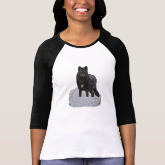 Lobo negro playera