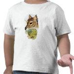 Lobo o tigre tasmano camiseta