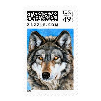 Lobo pintado sellos
