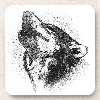 Lobo Posavasos De Bebida