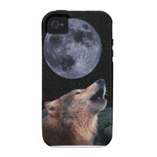Lobo que grita en la Luna Llena - Multi-Products-0 iPhone 4 Carcasa