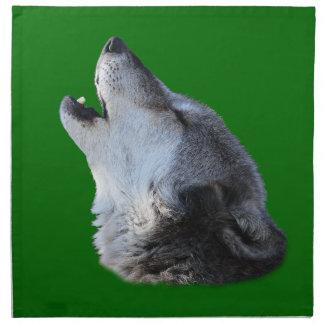 lobo que grita servilletas