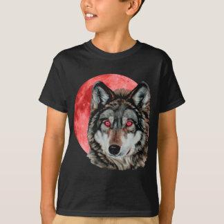 Lobo rojo de la luna playera