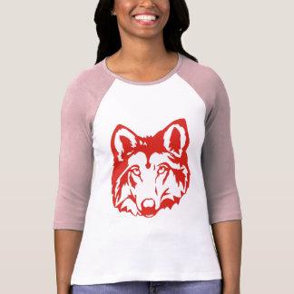 Lobo rojo playera