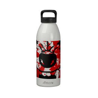 Lobo sangriento botellas de beber
