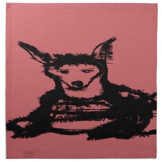 lobo servilletas