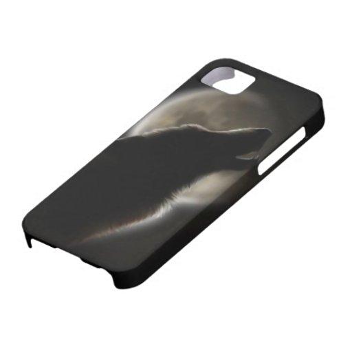 Lobo solitario iPhone 5 cárcasas
