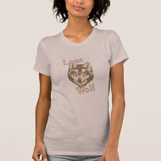 Lobo solitario tee shirts