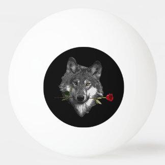 Lobo subió pelota de tenis de mesa