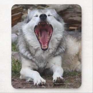 Lobo Alfombrilla De Ratón