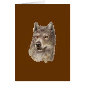 lobo tarjeta