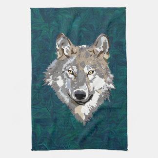 lobo toallas de mano