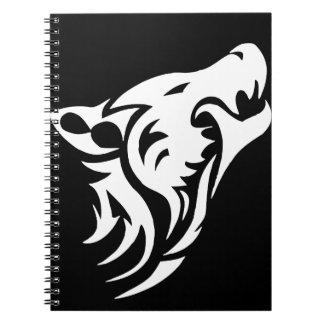 Lobo tribal cuadernos