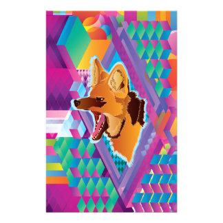 Lobo will guará stationery