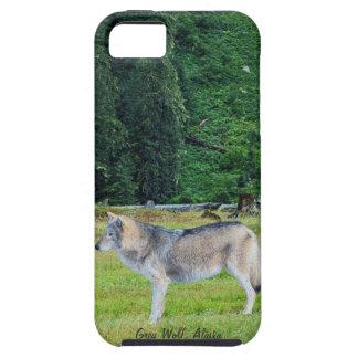 Lobo y caso de Alaska del iPhone 5 del arte de la Funda Para iPhone SE/5/5s