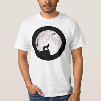 Lobo y Eagle - camisa de la Luna Llena