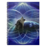 Lobo y el dreamcatcher cuadernos