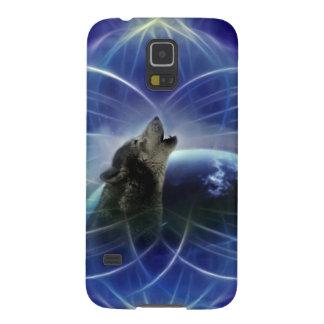 Lobo y el dreamcatcher carcasas para galaxy s5