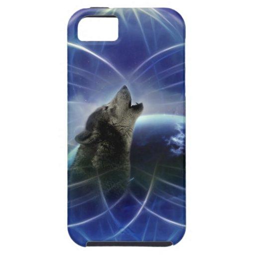 Lobo y el dreamcatcher iPhone 5 Case-Mate funda