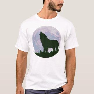 lobo y luna playera
