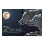 Lobos blancos en la Luna Llena