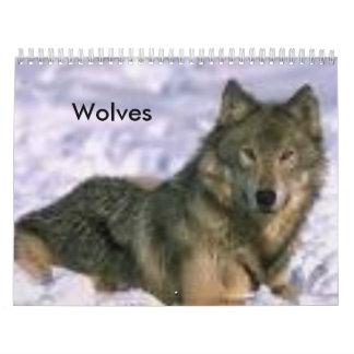 Lobos Calendario