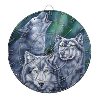 Lobos de la aurora del trullo tabla dardos