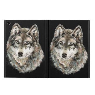 Lobos de la naturaleza animal del lobo gris de la