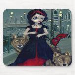 """Lobos de Venecia"" Mousepad Alfombrilla De Raton"