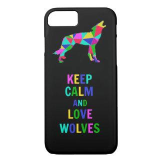 Lobos del amor funda iPhone 7