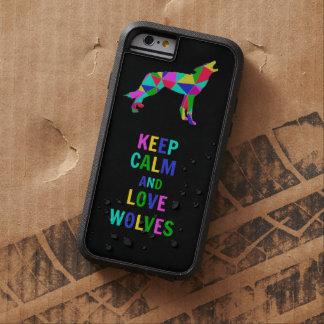 Lobos del amor funda tough xtreme iPhone 6