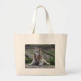 Lobos del bolso del lobo bolsa de mano