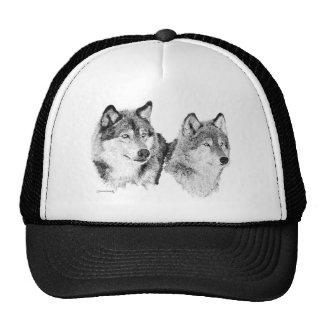 Lobos solitarios gorras de camionero