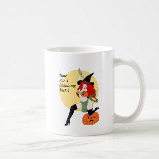 Lobotomy Pumpkin Coffee Mug