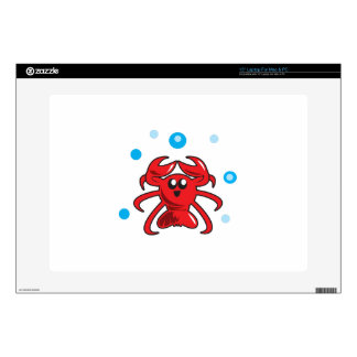 LOBSTER AND BUBBLES LAPTOP DECAL