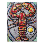 LOBSTER AND BUTTER POSTCARDS