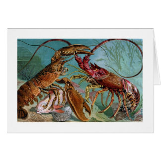Lobster and Langoustine Card