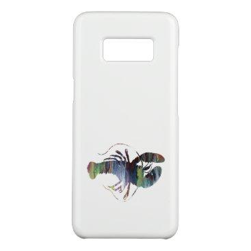 Beach Themed Lobster art Case-Mate samsung galaxy s8 case