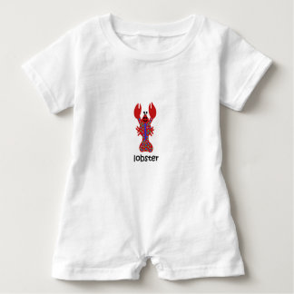 Lobster Baby Romper