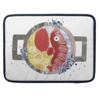 Lobster Beach 15 Inches Macbook Pro Sleeve