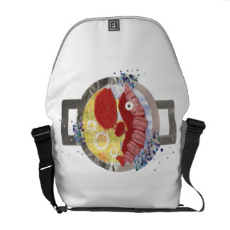 Lobster Beach Rusksack Courier Bag