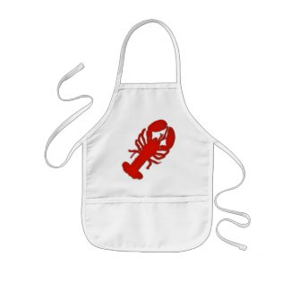 Lobster Bib Small Apron Aprons