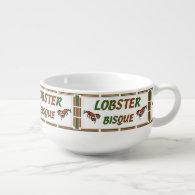 Lobster Bisque Soup Mug