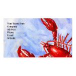Lobster Biz Card Business Cards