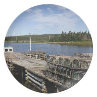 Lobster Boat, Mushaboom, Nova Scotia, Canada Plate