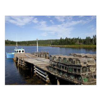 Lobster Boat, Mushaboom, Nova Scotia, Canada Postcard
