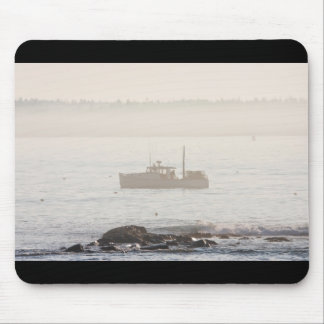 Lobster Boat Off Mount Desert Island Maine Mouse Pad